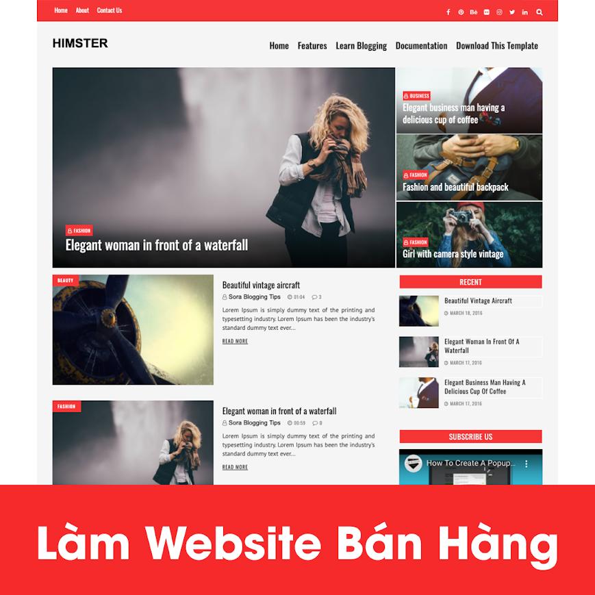 [A121] Địa chỉ thiết kế website thực phẩm uy tín tại Hà Nội