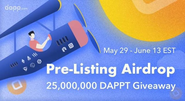 Dapp pre listing Big Airdrop