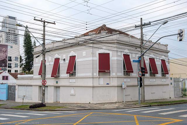 Casa na Rua Duque de Caxias que é de interesse de preservação