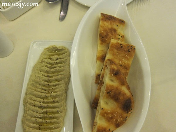 Bread and Humus-Bosphorus Fine Turkish Cuisine