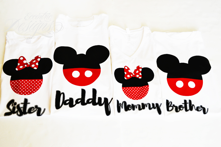 Eccentric Designs by: Latisha Horton: *NEW* Minnie Mouse and Mickey Mouse Family Tees