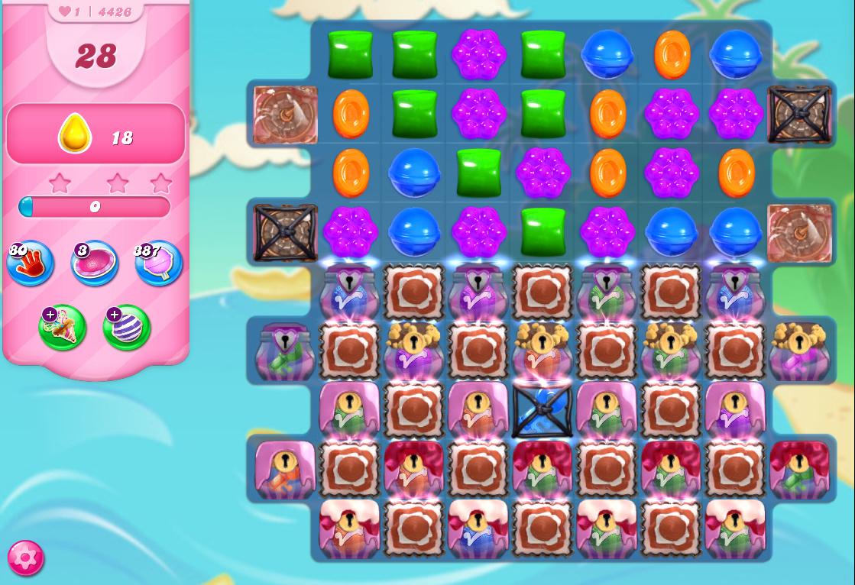 Candy Crush Saga level 4426