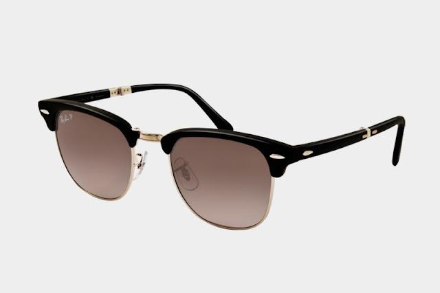e74c49058 ... Aviador e Wayfarer dobráveis, a marca Ray Ban resolveu disponibilizar  outro modelo favoritos dos clientes da marca, trata do Clubmaster. O óculos  de sol ...