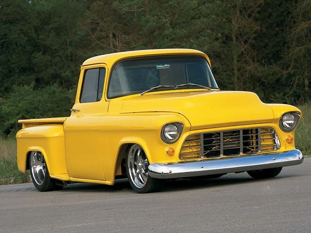 1955 Chevrolet pickup hot rods pictures