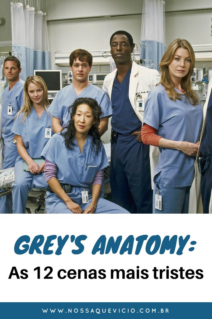12 cenas mais tristes e tensas de Grey's Anatomy