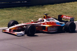Zanardi driving for the Williams F1 team at the 1999 Canada Grand Prix in Montreal