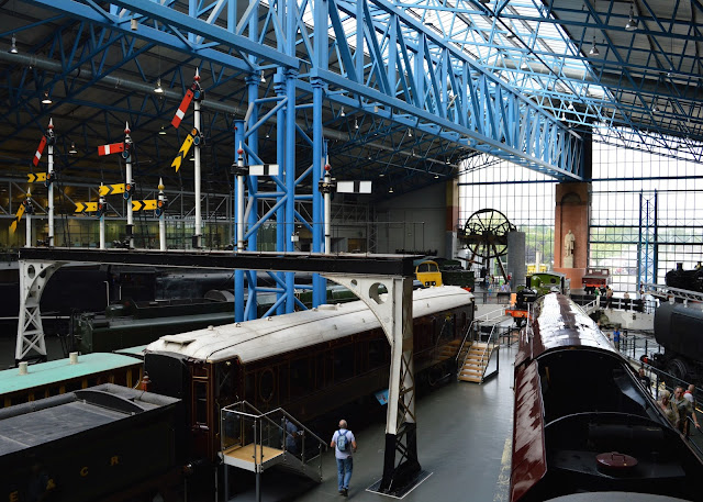 20+ UK Days Out for Children who Love Trains  - national rail museum