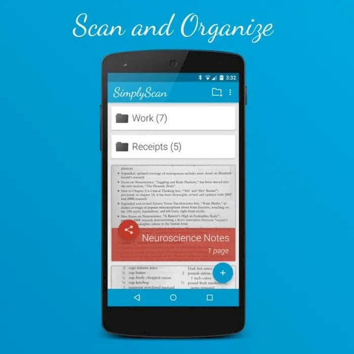 Best Scanner Apps on Android SimplyScan