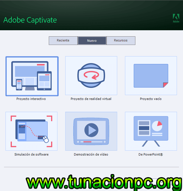 Descargar Adobe Captivate 2019