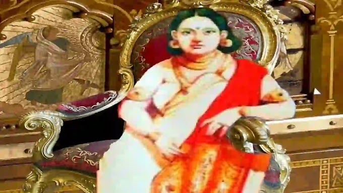 Gouri Lakshmi Bayi - Gowri Parvathi Bayi in Malayalam