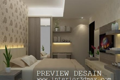 Jasa design 3ds apartemen cantik minimalis murah berpengalaman