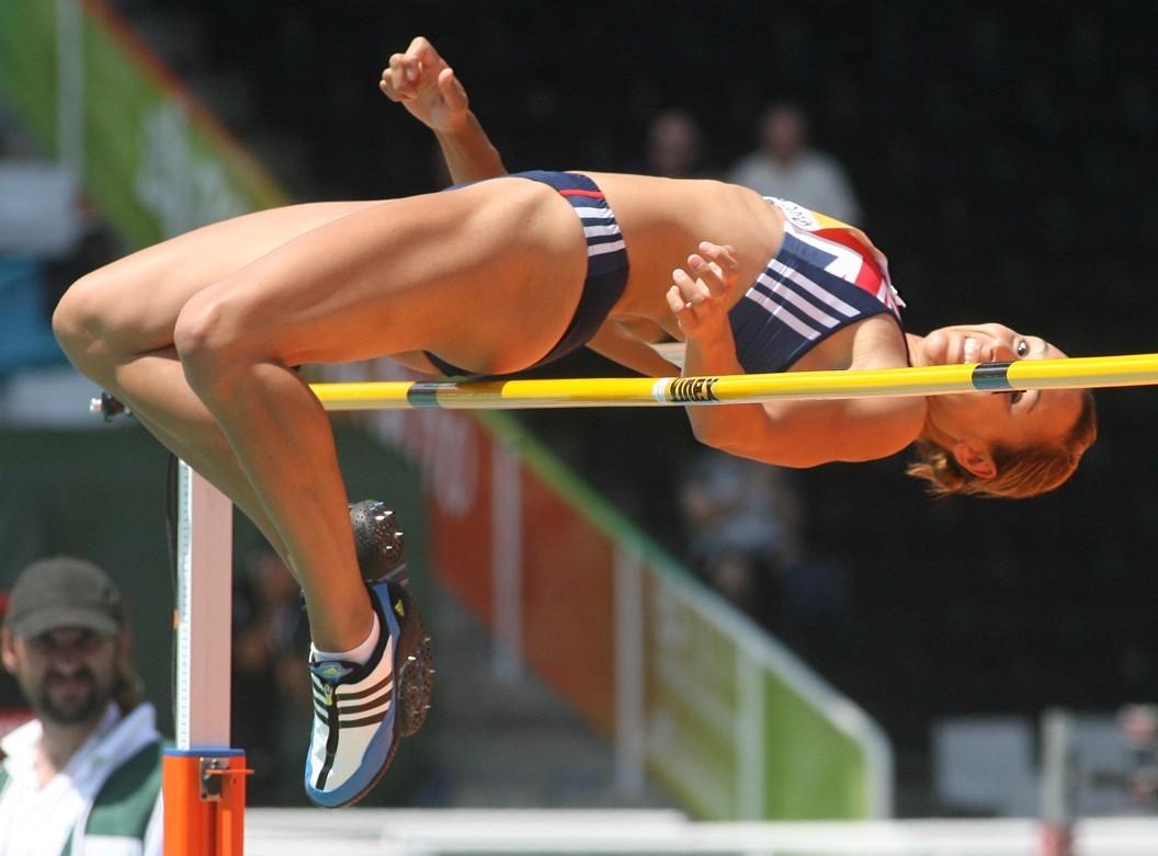 Jessica ennis medalla de oro olímpica británica ass ameman 2
