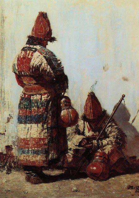 Василий Васильевич Верещагин - Узбек-продавец посуды. 1873