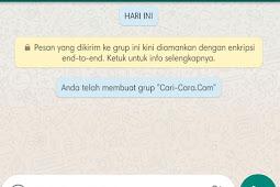 Cara Membuat Teks Tebal, Miring, Garis Bawah, Coret Tengah Di Pesan Whatsapp Dengan Mudah