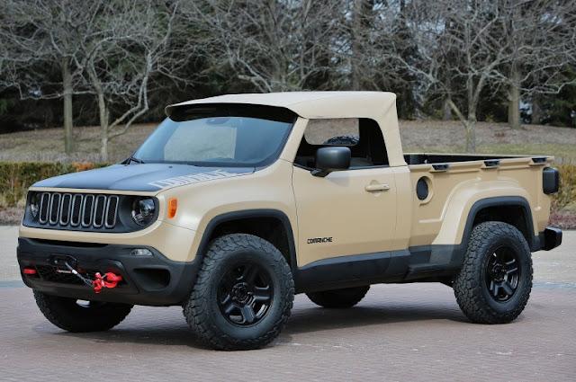 Jeep ya tienen listos 7 nuevos vehículos alfa Todo terreno que harán historia