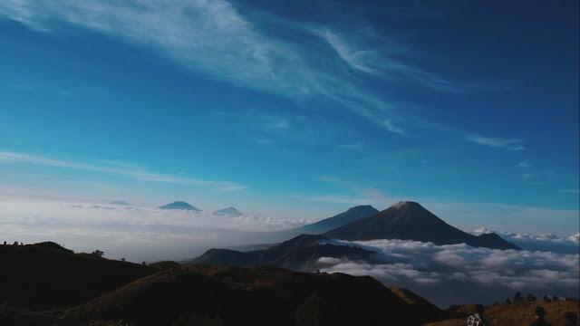 Gunung Prau via Dieng Resmi di Buka untuk Umum