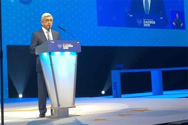 Sarkisyan: Pashinyan amenaza la democracia