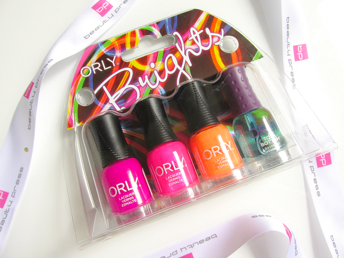 Beautypress News Box Juni 2016 - ORLY - Mini Kit BRIGHTS - 4 x 5.3ml - 16.50 € (UVP)