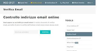Mio IP mail