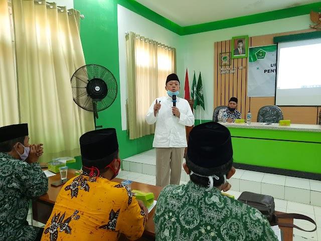 LP Ma'arif Jepara Adakan Workshop Manajemen Madrasah dan Yayasan secara Hybrid