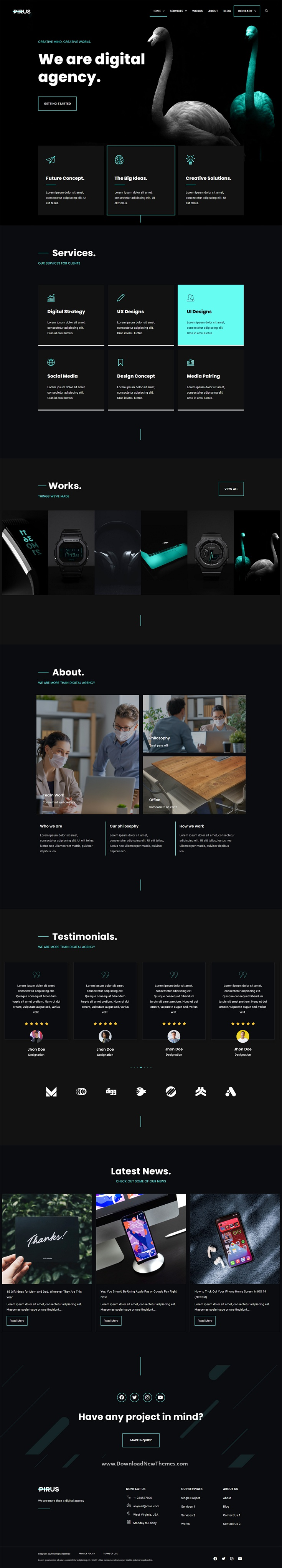 Digital Agency Elementor Template Kit