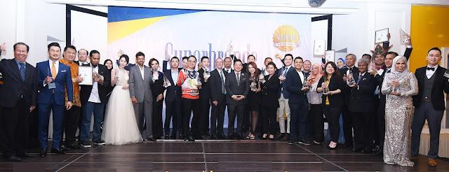 Pengiktirafan Syarikat Multinasional (MNC) dan Korporat Tempatan Melalui Anugerah Superbrands Malaysia 2019