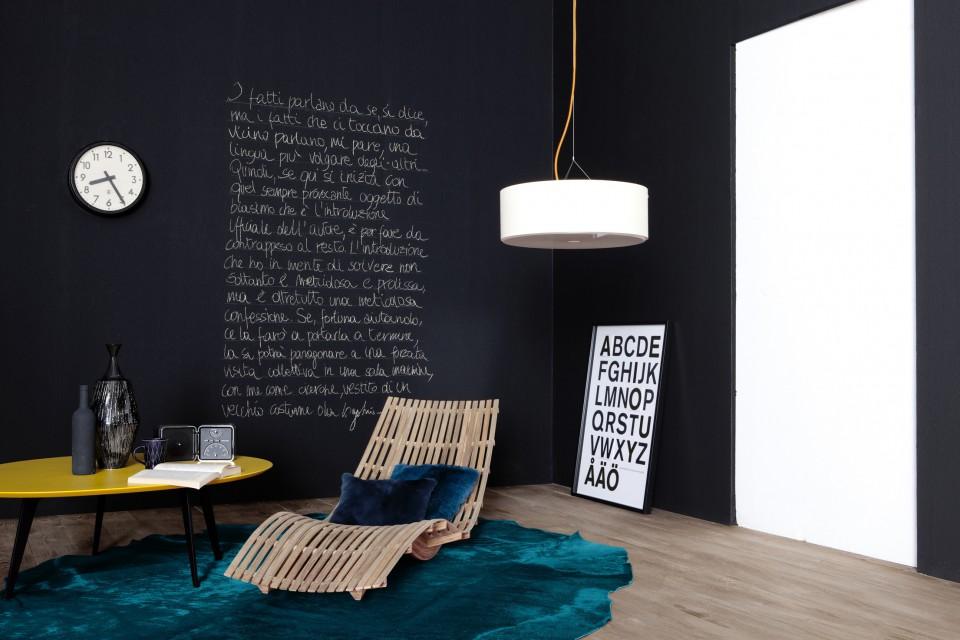 Pod studio lavagna fai da te for Carta parete adesiva