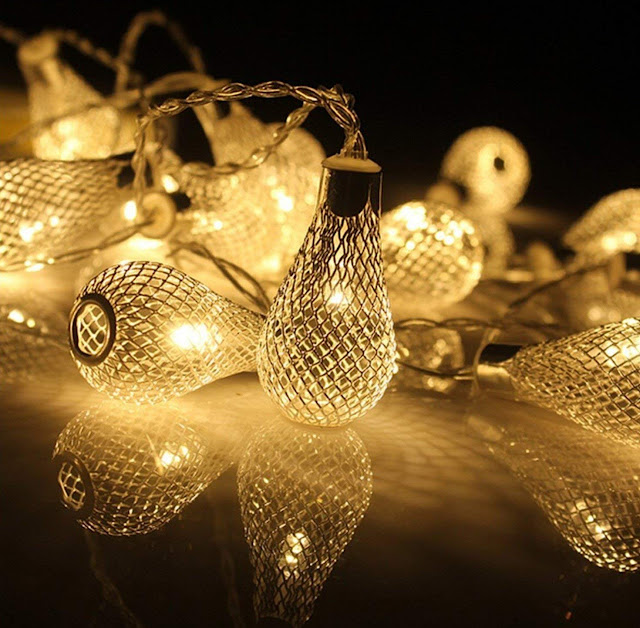 Waterdrop Decorative Lights