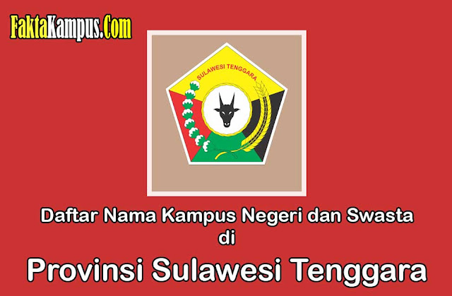 Daftar Kampus di Sulawesi Tenggara