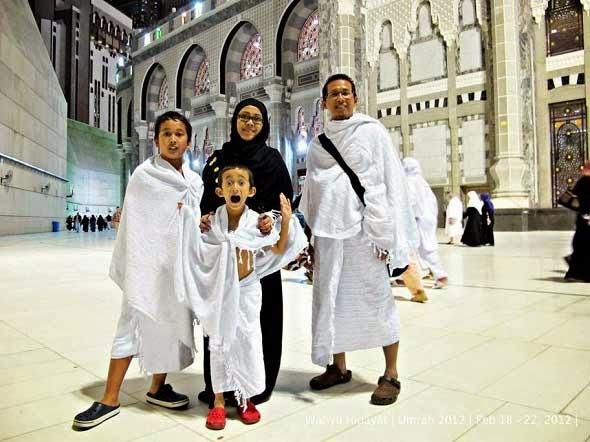 Umroh bersama keluarga