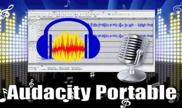 تحميل برنامج Audacity Portable عملاق تحرير وتسجيل الصوت واضافة التأثيرات نسخة محمولة اخر اصدار