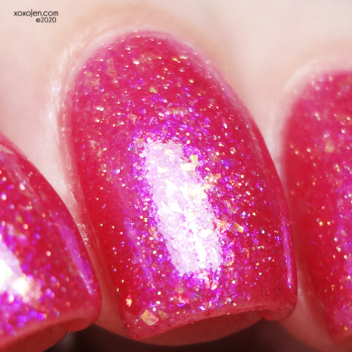 xoxoJen's swatch of Poetry Cowgirl Nail Polish Check Yourself