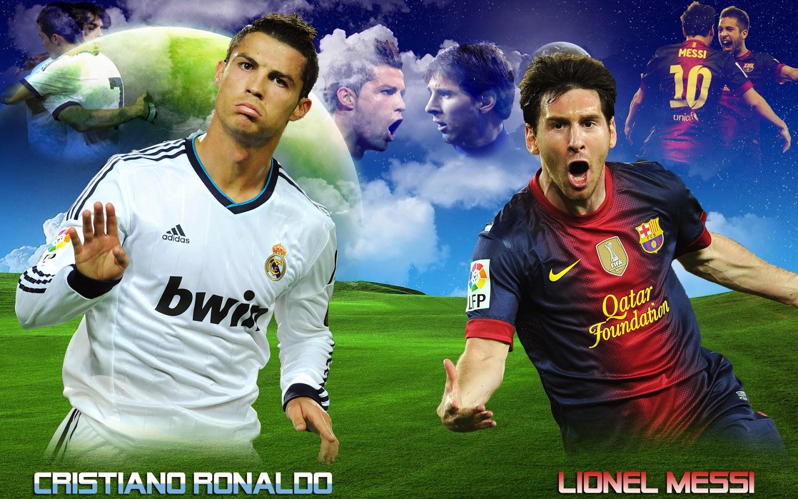 Foto Cristiano Ronaldo Vs Lionel Messi » Foto Gambar Terbaru