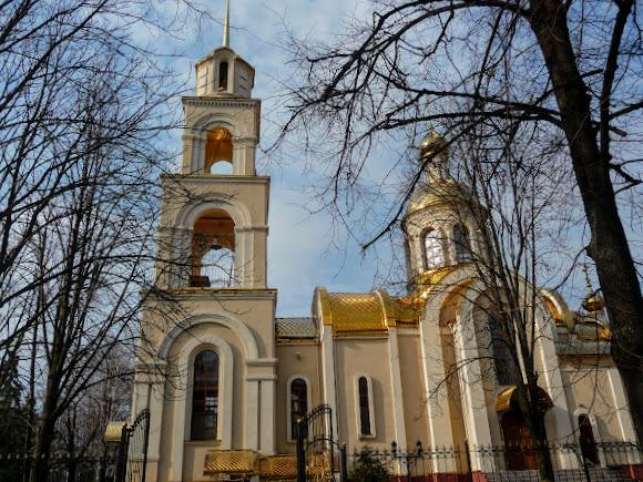 Славянск. Храм святого Духа