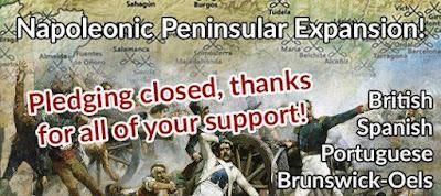 Peninsular Napoleonics Not-Kickstarter, Pledging Closed from Pendraken Miniatures