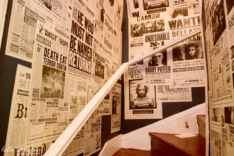 azkaban prison newspapers, sirius snape