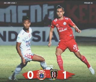 Persija Jakarta vs Bali United 0-2 Video Gol