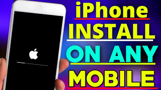 iPhone System Install On Any Android phone