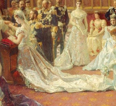 Mary of Teck, George V, wedding