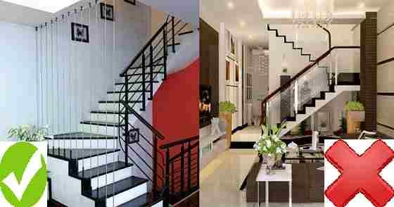 Cầu thang nên đặt bên trái hay bên phải ngôi nhà