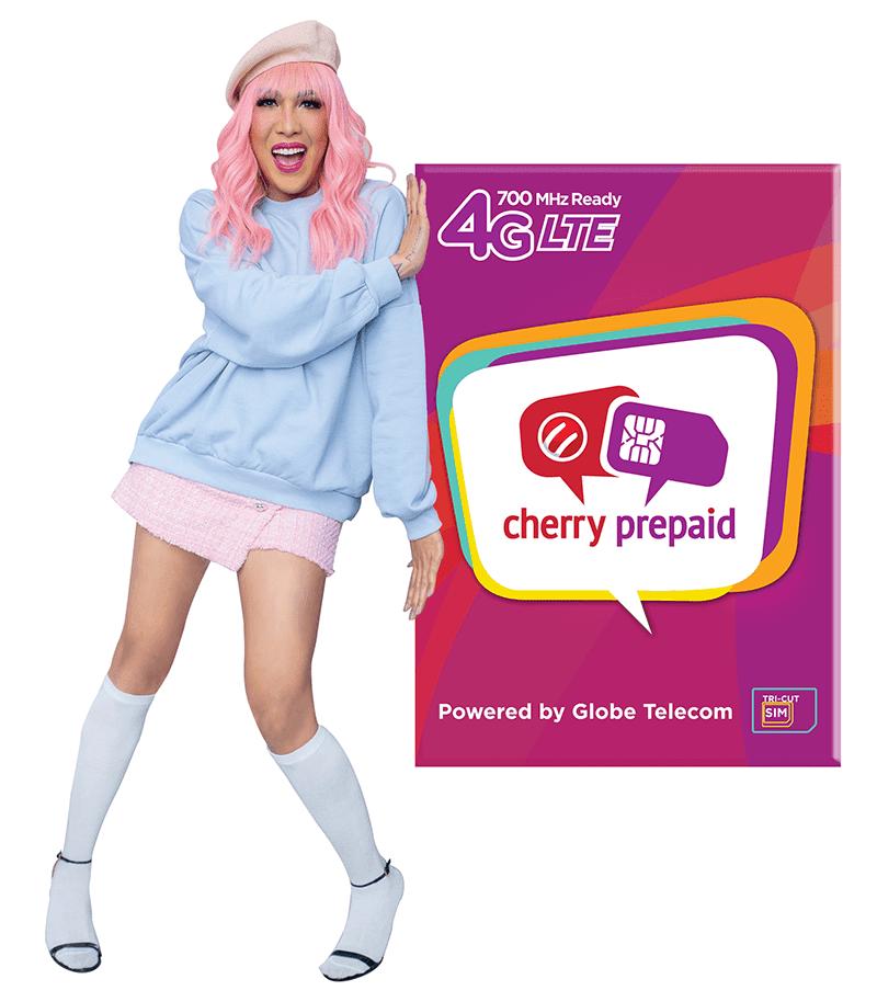 Vice Ganda with Cherry Prepaid