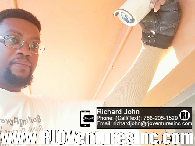 Surveillance Camera Installation - IT Solutions - Technology Services - Onsite [RJOVenturesInc.com]