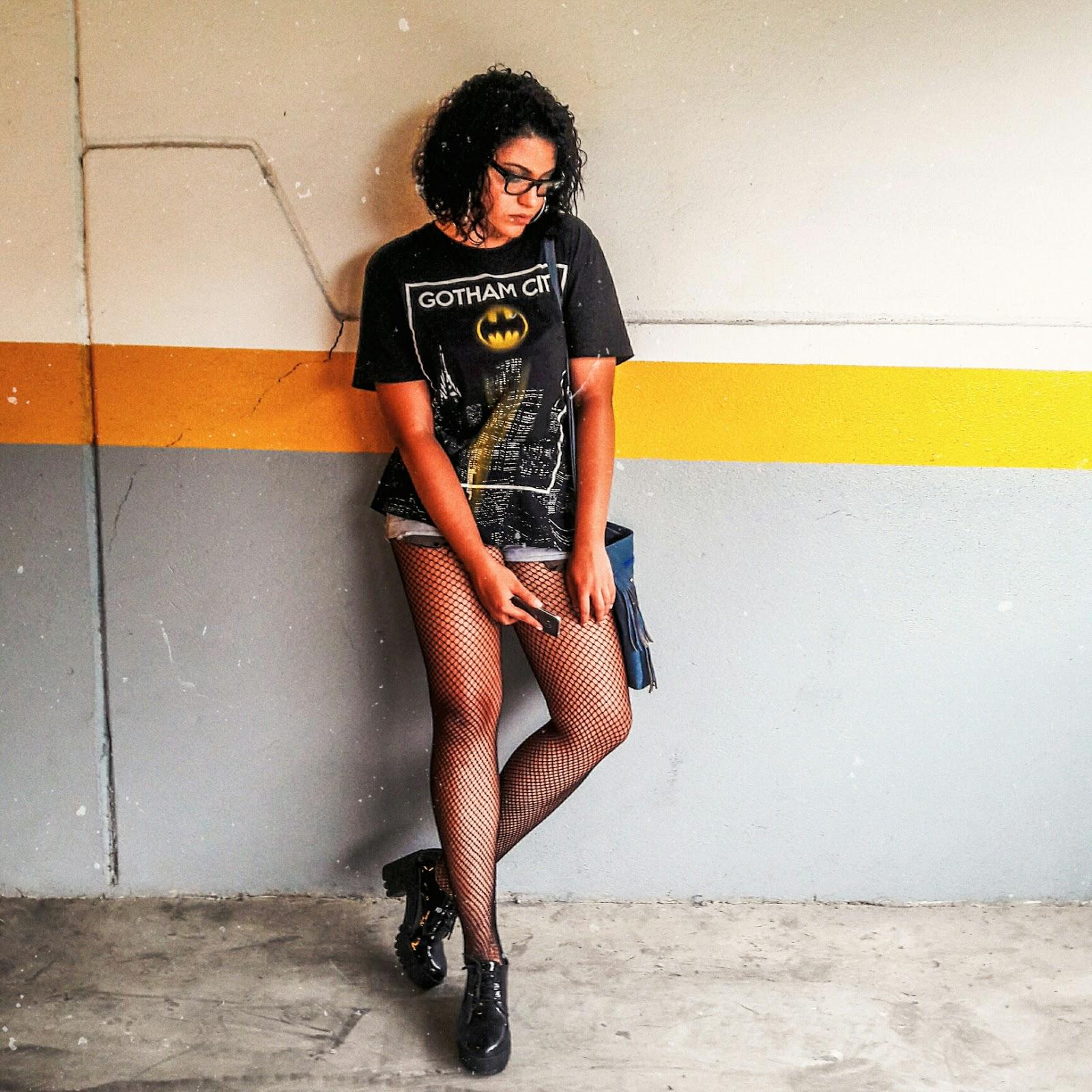 LOOK DO DIA ::  STREET STYLE E BOLSA AZUL | BLOG CONFIDENT POR LETÍCIA CAETANO