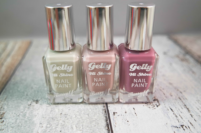 Barry M Spring '16 Lucy Mecklenburgh Gelly Hi Shine Nail Paint