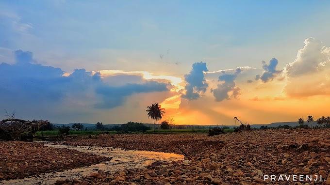 Sunset at Ramdurg, Karnataka