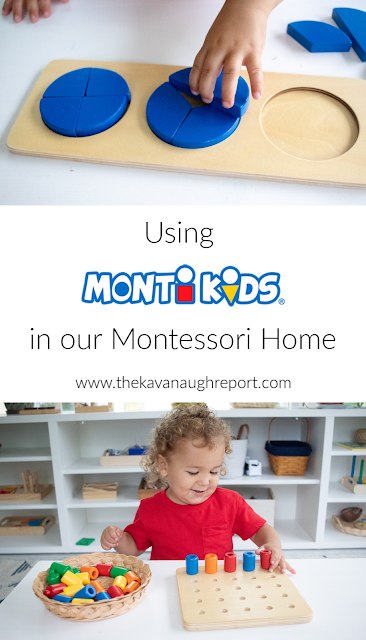 A real life look at how we use Monti Kids in our Montessori home