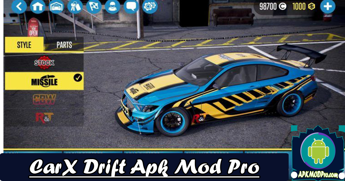 Download CarX Drift Racing 1.16.2 Mod APK (Unlimited Money) Terbaru 2020