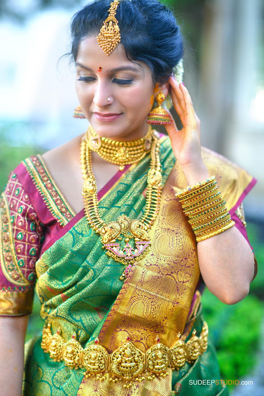 South Asian Indian Wedding Photography Bride Dress Bridal Jewelry Farmington Hills by SudeepStudio.com Ann Arbor Indian Wedding Photographer