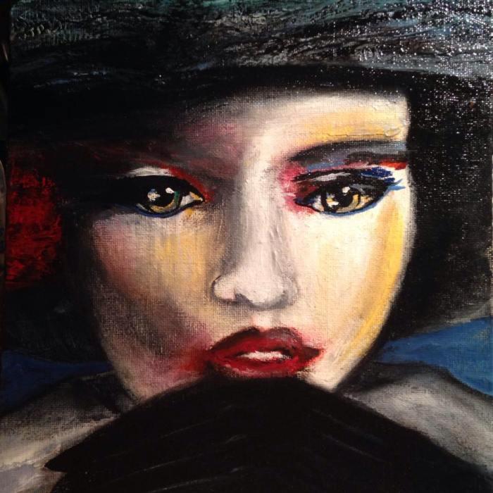 Американский художник. Tina Poe