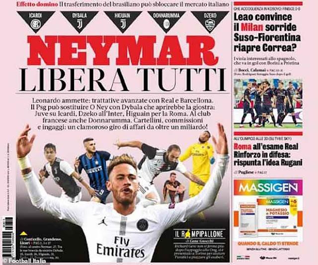 Châu Âu phát cuồng vì Neymar: Hiệu ứng domino ngốn tỷ euro cuốn Real - Barca 2